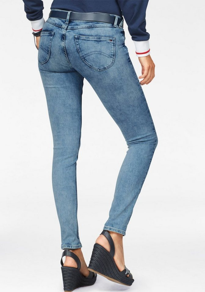 tommy jeans jeans low rise skinny sophie frlbst otto. Black Bedroom Furniture Sets. Home Design Ideas