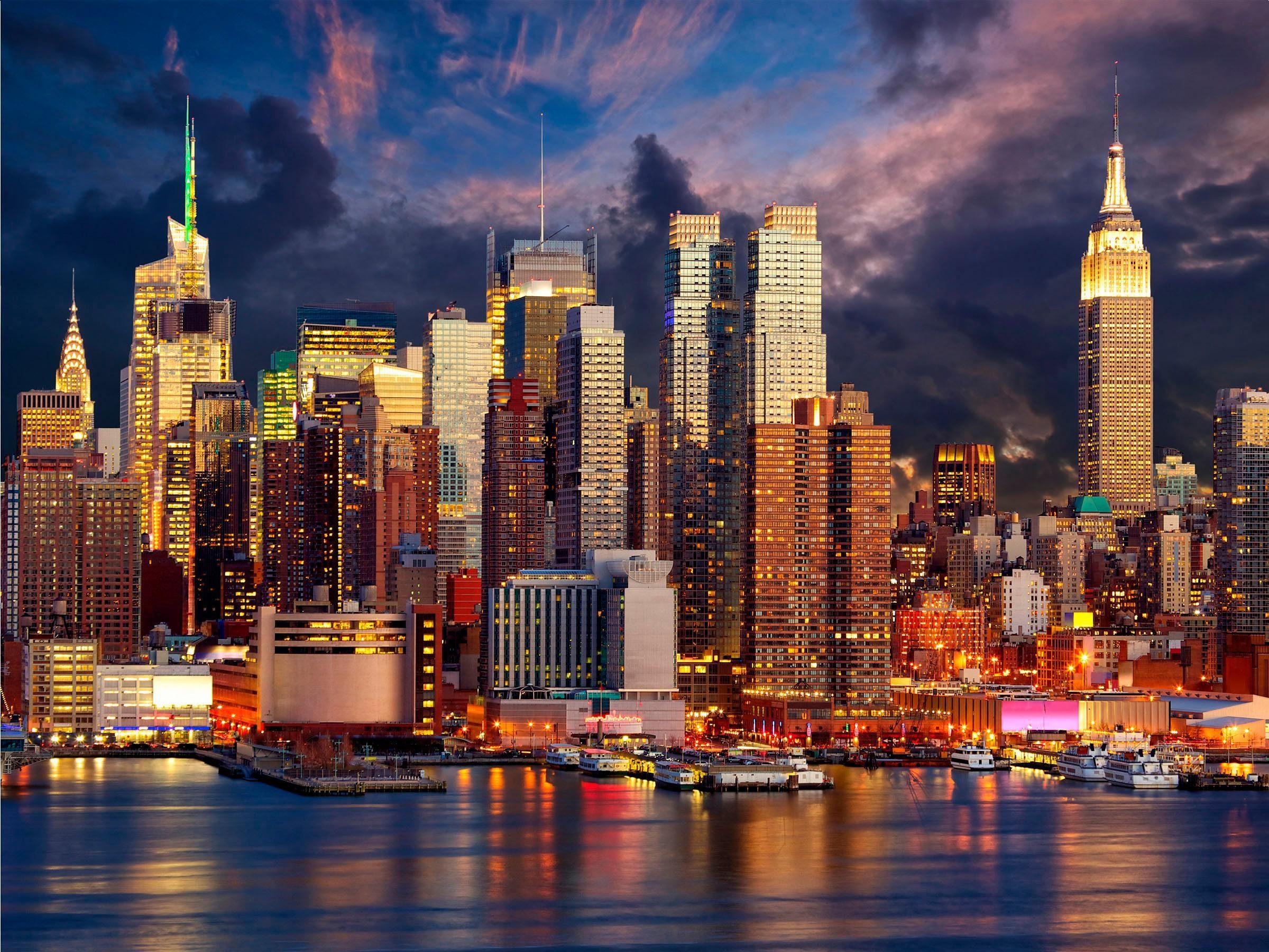 Home affaire Leinwandbild »New York« 80/60 cm