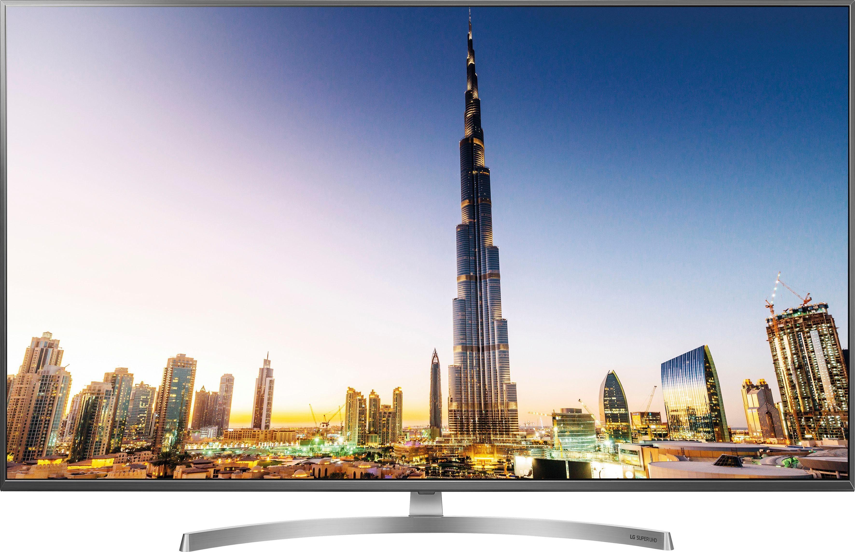LG 55SK8100LLA LED-Fernseher (139 cm/55 Zoll, 4K Ultra HD, Smart-TV)
