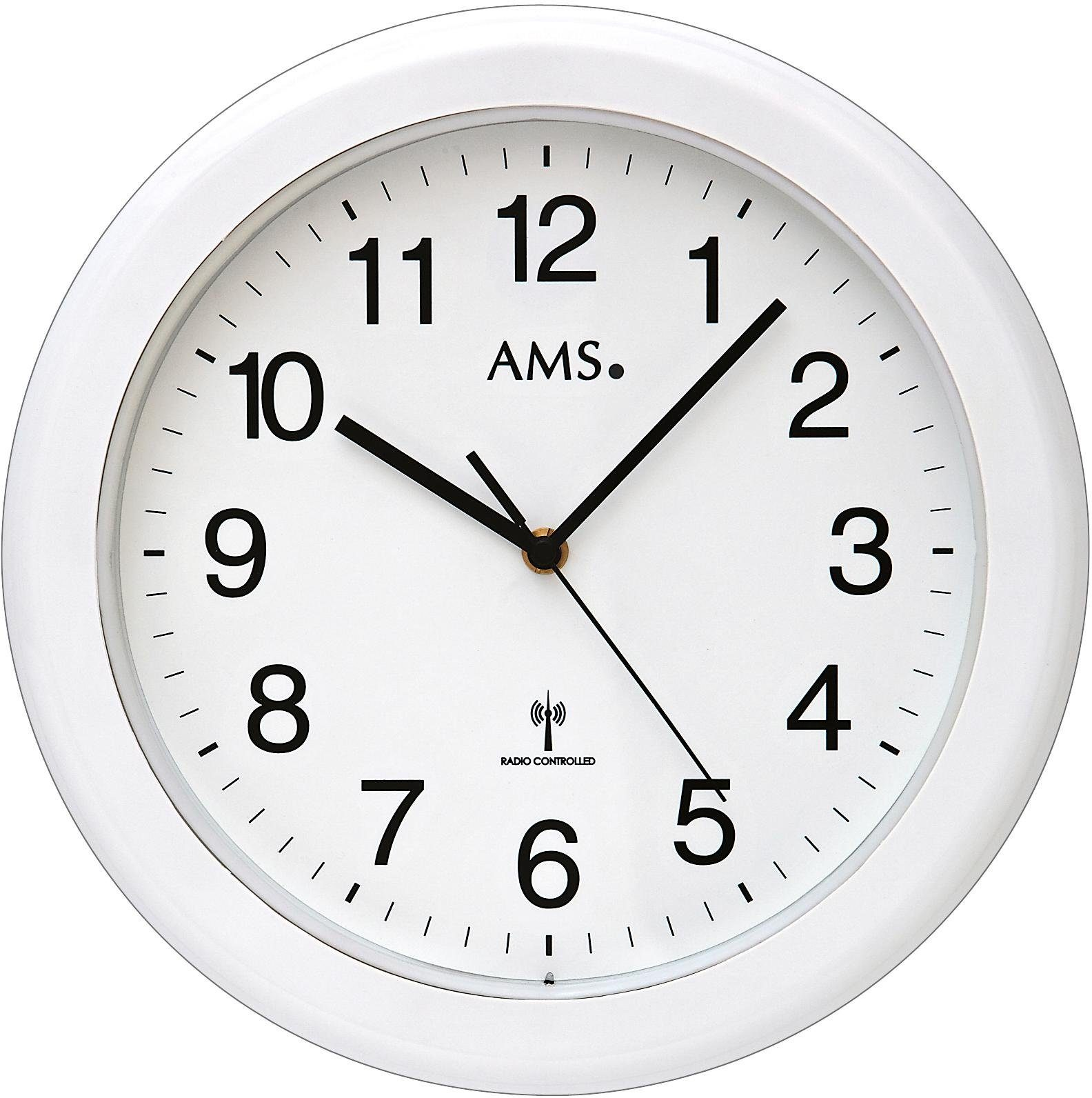 AMS Funkwanduhr »F5957«