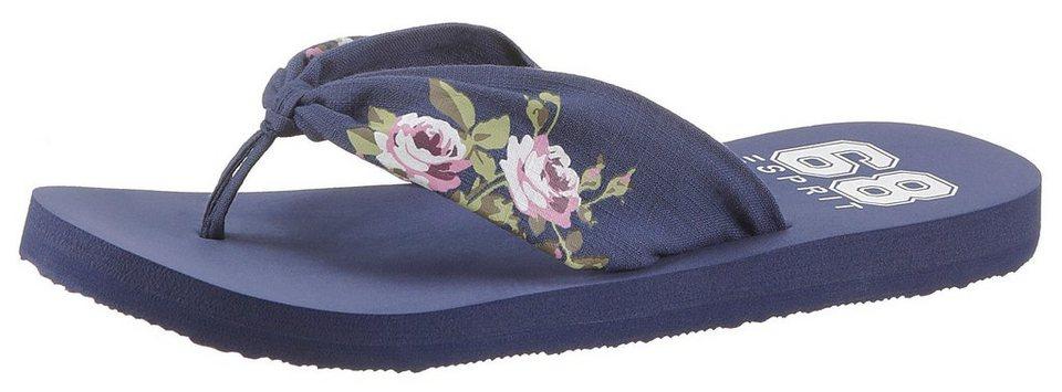 b57de66e611 Esprit »Alice Flower« Zehentrenner mit schönem Blütenprint online ...