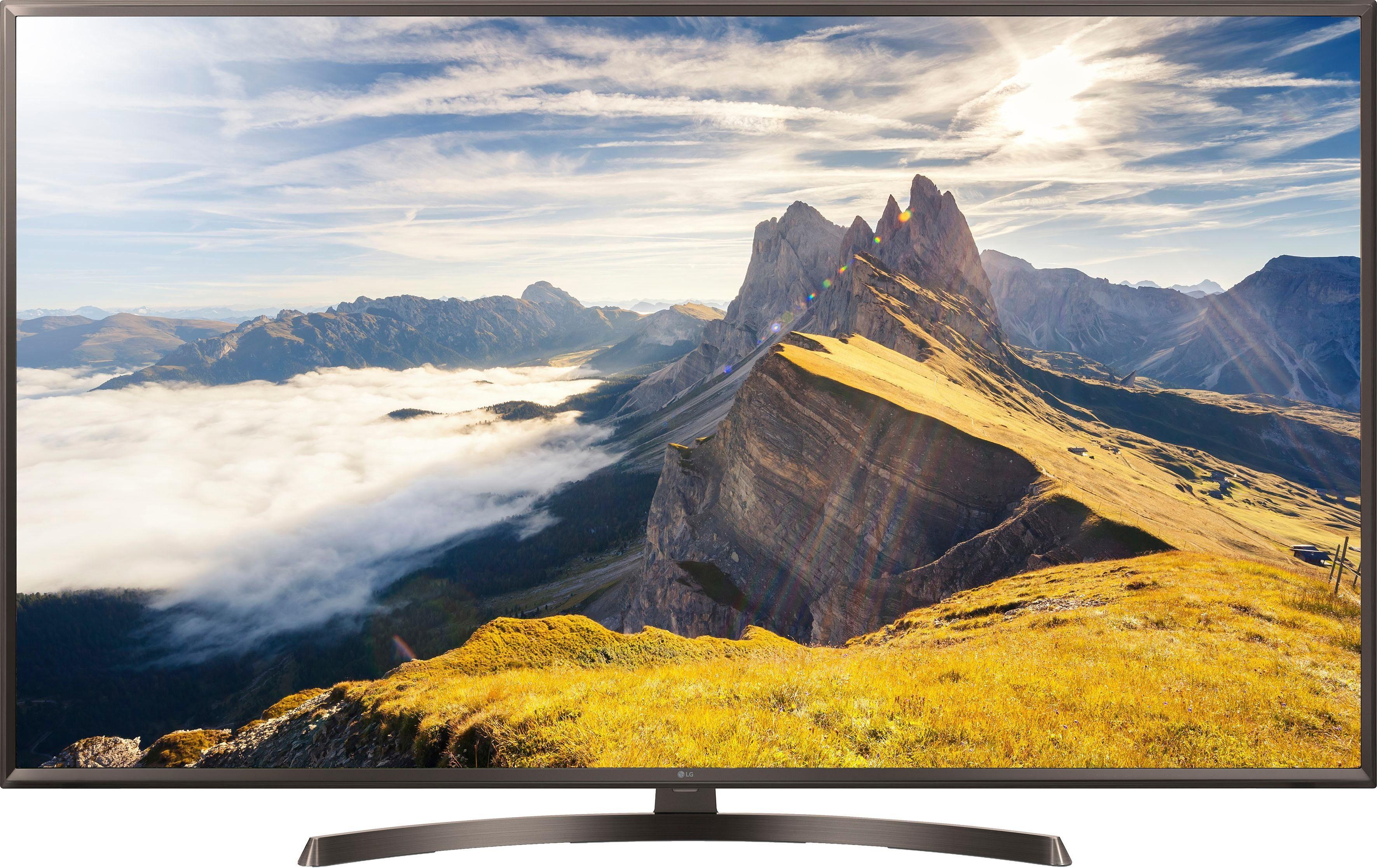 LG 55UK6400PLF LED-Fernseher (55 Zoll, 4K Ultra HD, Smart-TV)