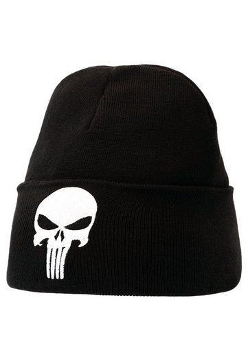 LOGOSHIRT Strickmütze mit coolem Punisher-Logo