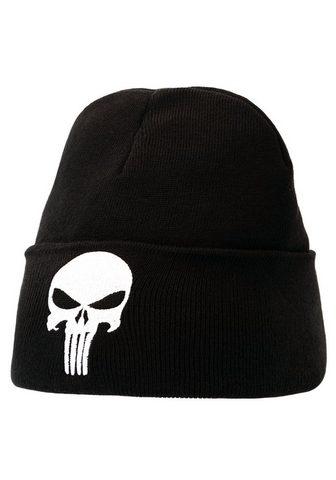 LOGOSHIRT Шапка вязаная с coolem Punisher-Logo