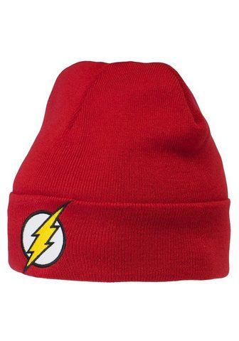 LOGOSHIRT Шапка вязаная с The Flash-Logo