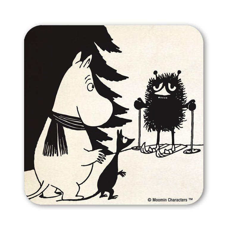 LOGOSHIRT Untersetzer mit niedlichem Moomins-Motiv