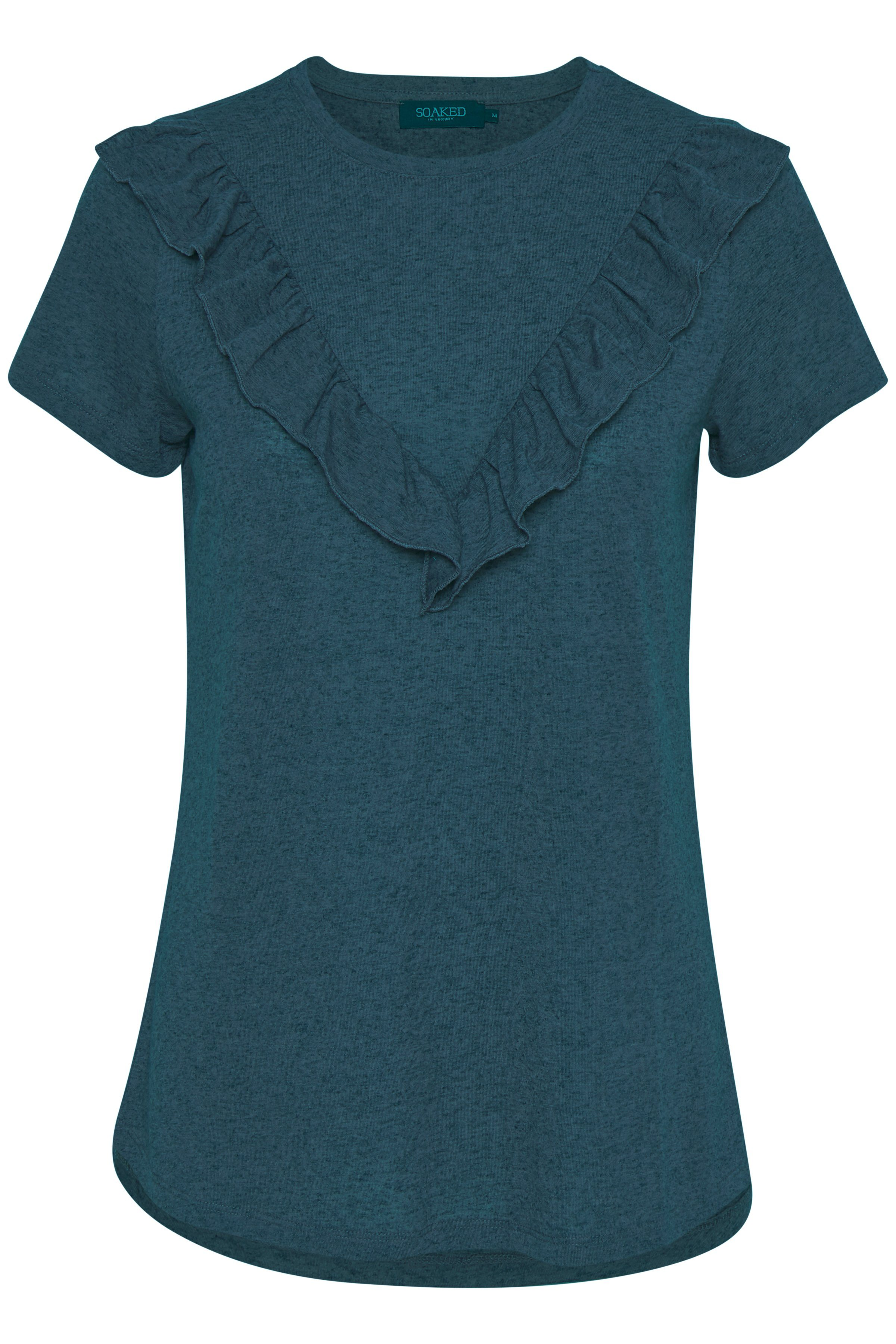 SOAKED IN LUXURY T-Shirt »Becca Top ss ZE08«