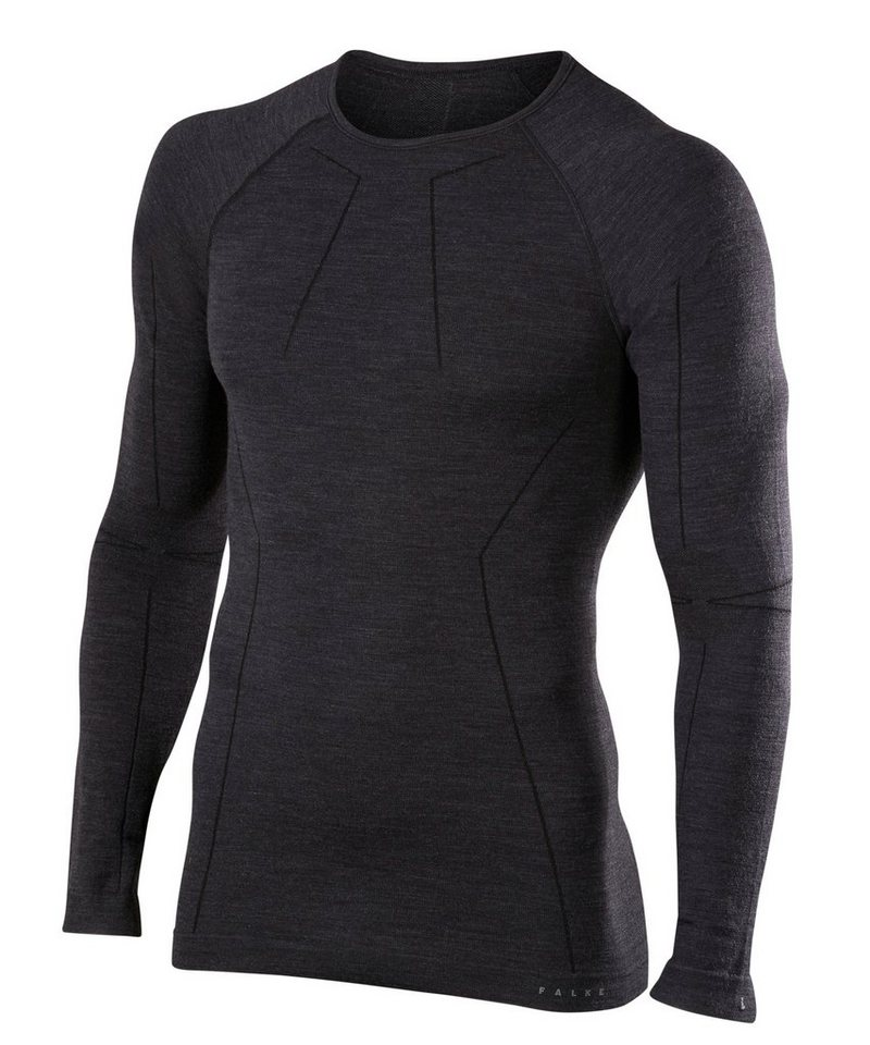 falke -  Langarmshirt »Wool-Tech« mit feinster Merinowolle