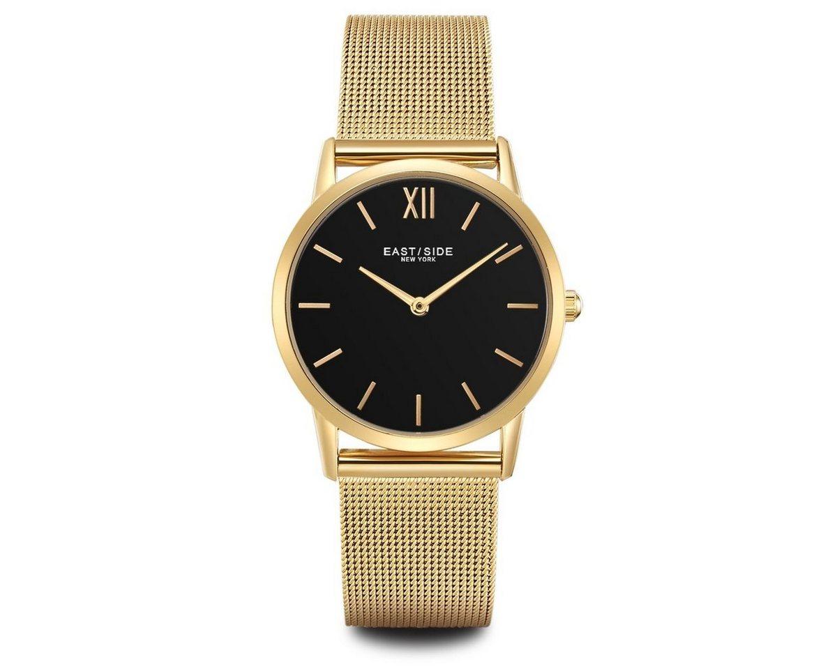 Eastside Quarzuhr »Upper Union T5164« mit Edelstahl-Armband   Uhren > Sonstige Armbanduhren   Gelb   Eastside