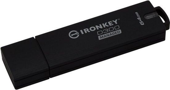 Kingston USB-Stick »IronKey D300, 64GB Managed Encrypted«