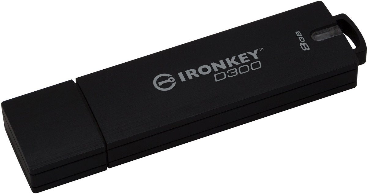 Kingston USB-Stick »IronKey D300, 8GB, Encrypted«