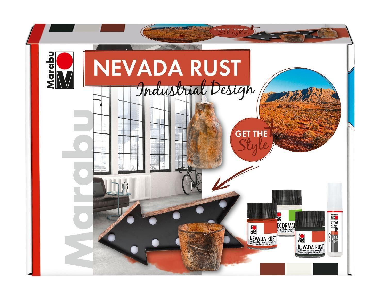 "Farbset ""NEVADA Rust Industrial Design"" 5 Teile"