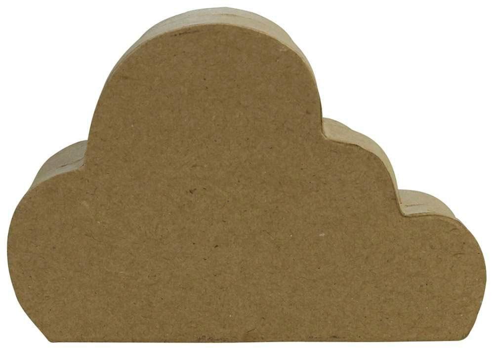 """décopatch Pappschachtel """"Wolke"""" 13 cm x 9 cm x 4 cm"""