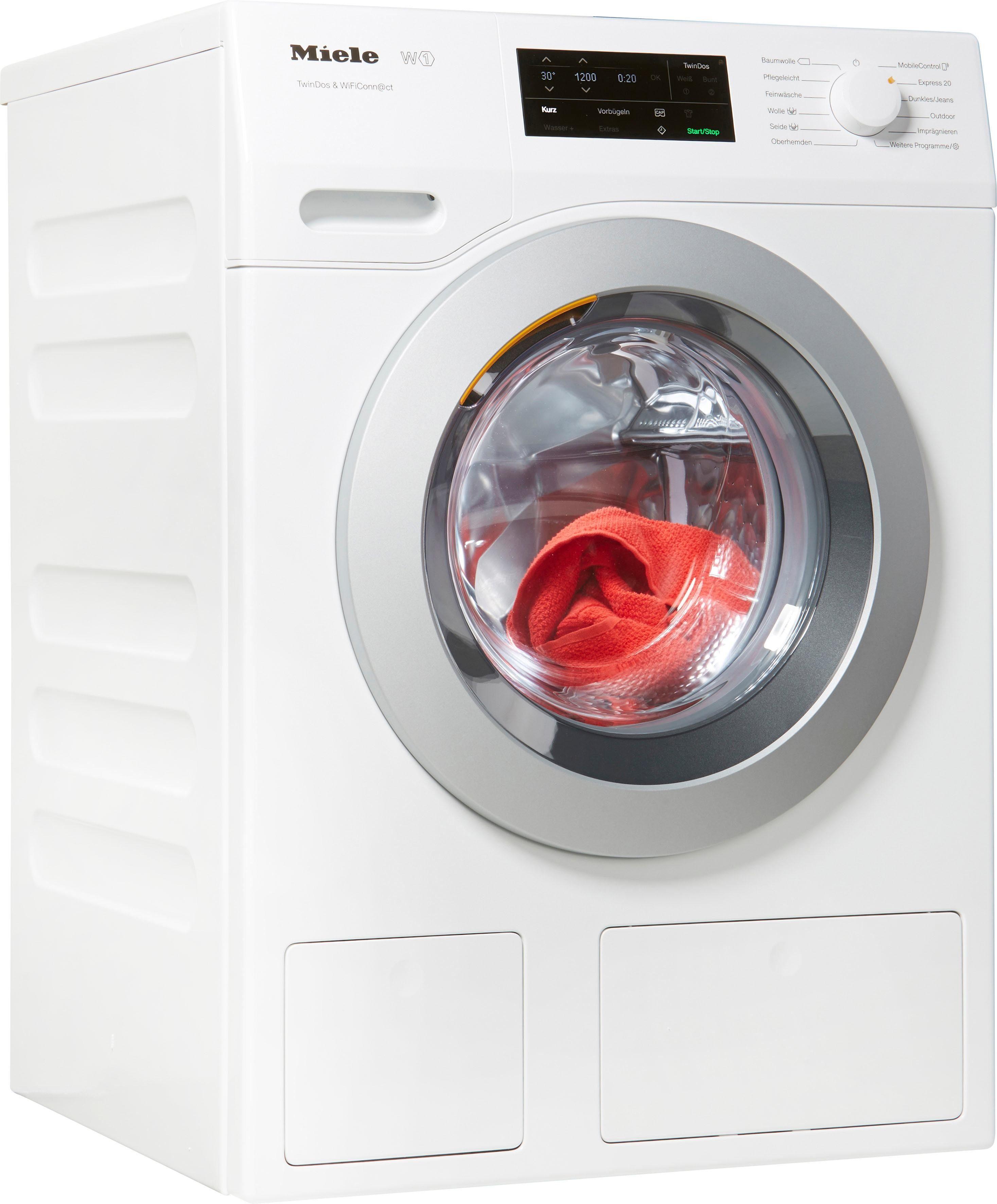 Miele Waschmaschine WCE670 WCE670 WCS TDos Wifi, 8 kg, 1400 U/Min