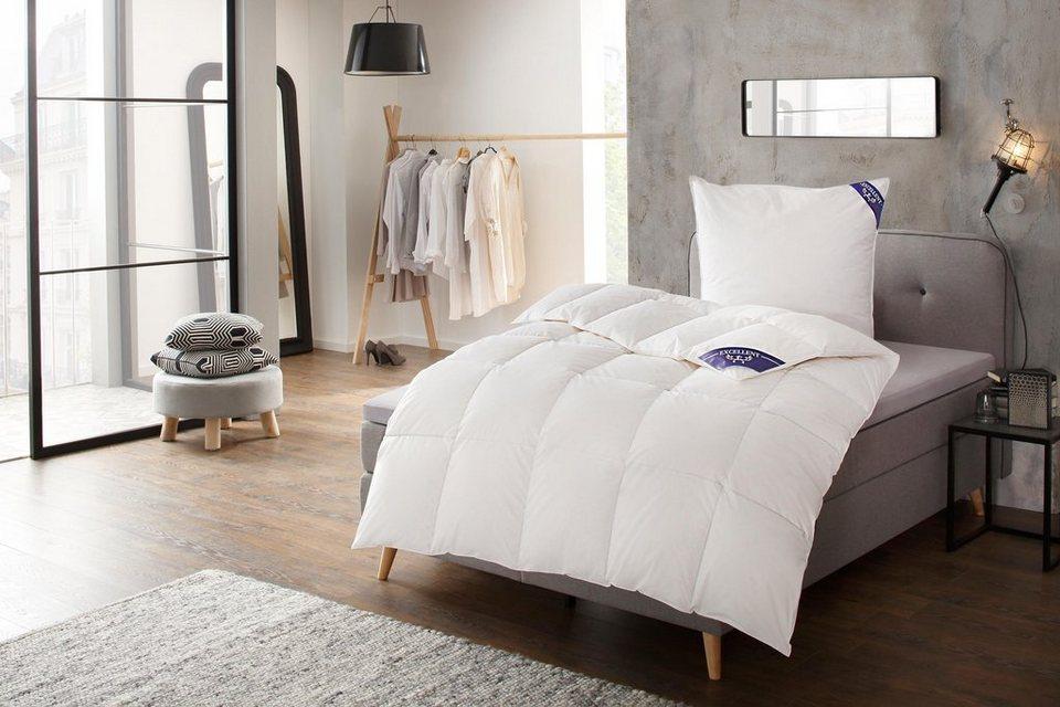 Bettdecke Kopfkissen Lugano Excellent Normal Material Fullung Entendaune Feder Online Kaufen Otto