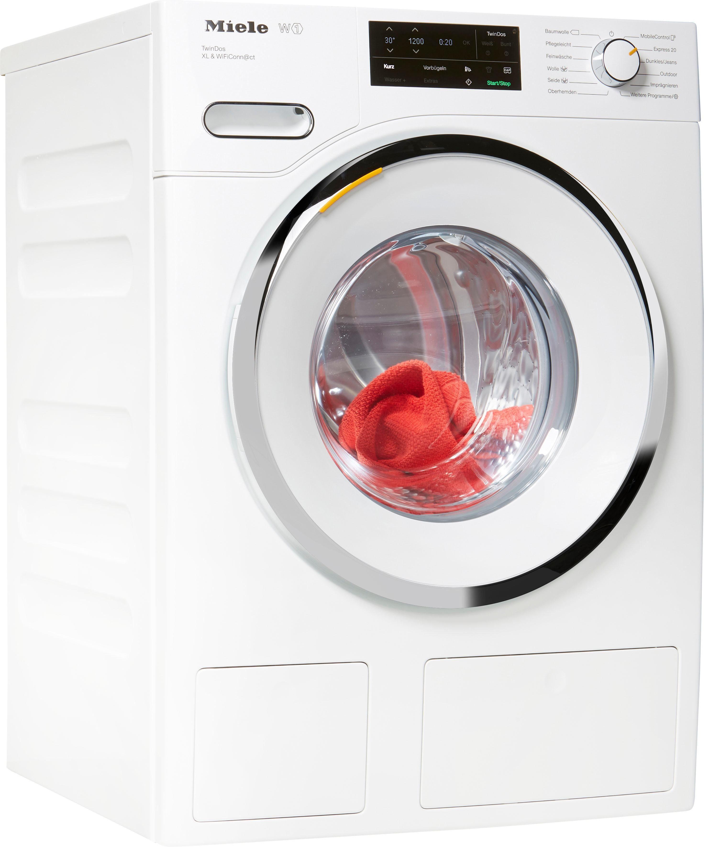 Miele Waschmaschine WWI660 WWI660 WPS TDos XL&Wifi, 9 kg, 1600 U/Min