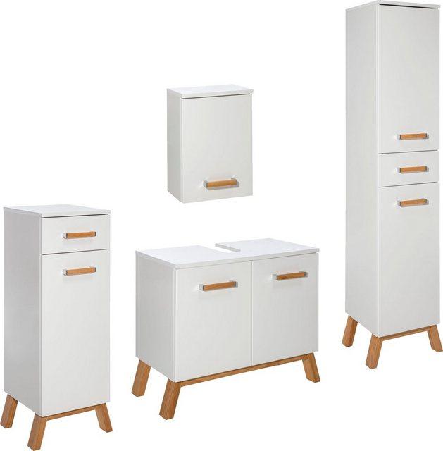 Badezimmer Sets - Schildmeyer Badmöbel Set »Venlo«, (Set, 4 tlg)  - Onlineshop OTTO