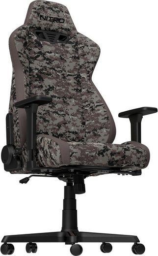 NITRO CONCEPTS Gaming-Stuhl »S300 Urban Camo Gaming Chair« Bürostuhlzertifizierung DIN EN 1335