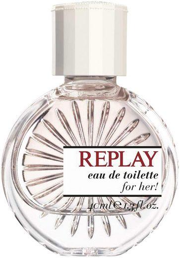Replay Eau de Toilette »For Her«