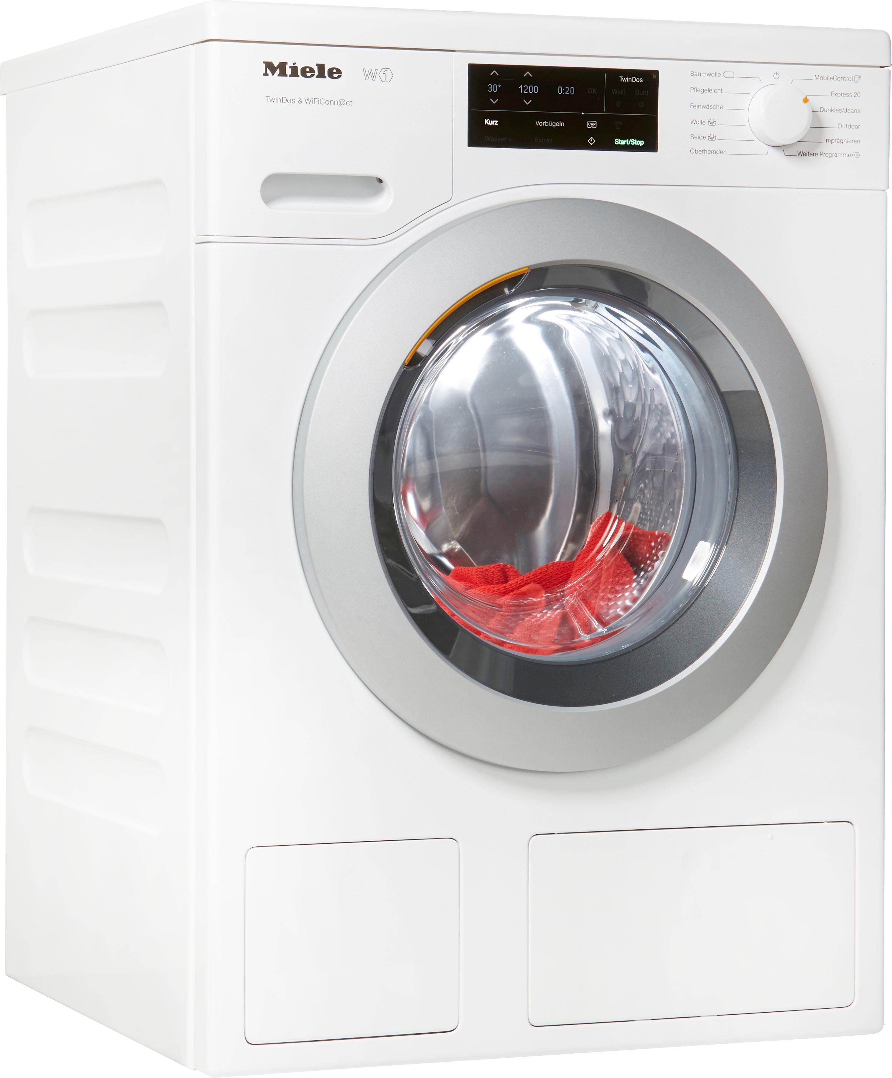 Miele Waschmaschine WCE660 WPS TDos Wifi, 8 kg, 1400 U/Min