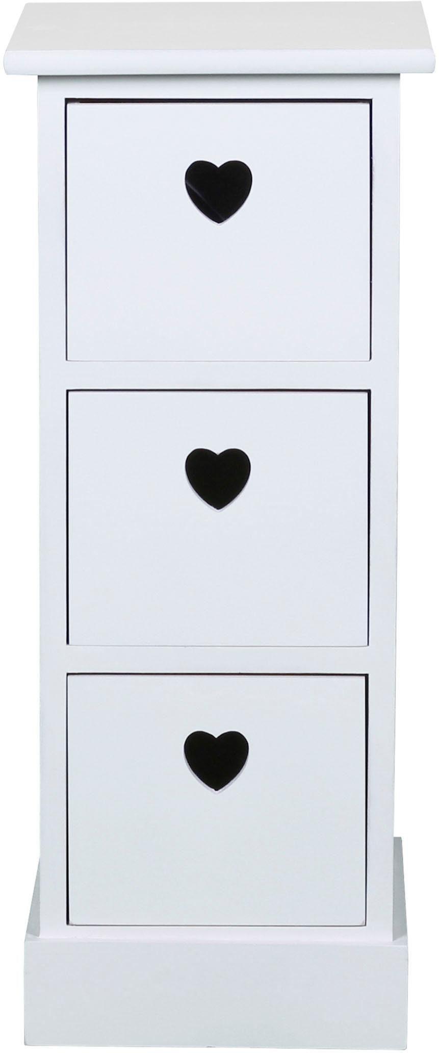 SIT Kommode »Macao« mit Grifflöchern in Herzform