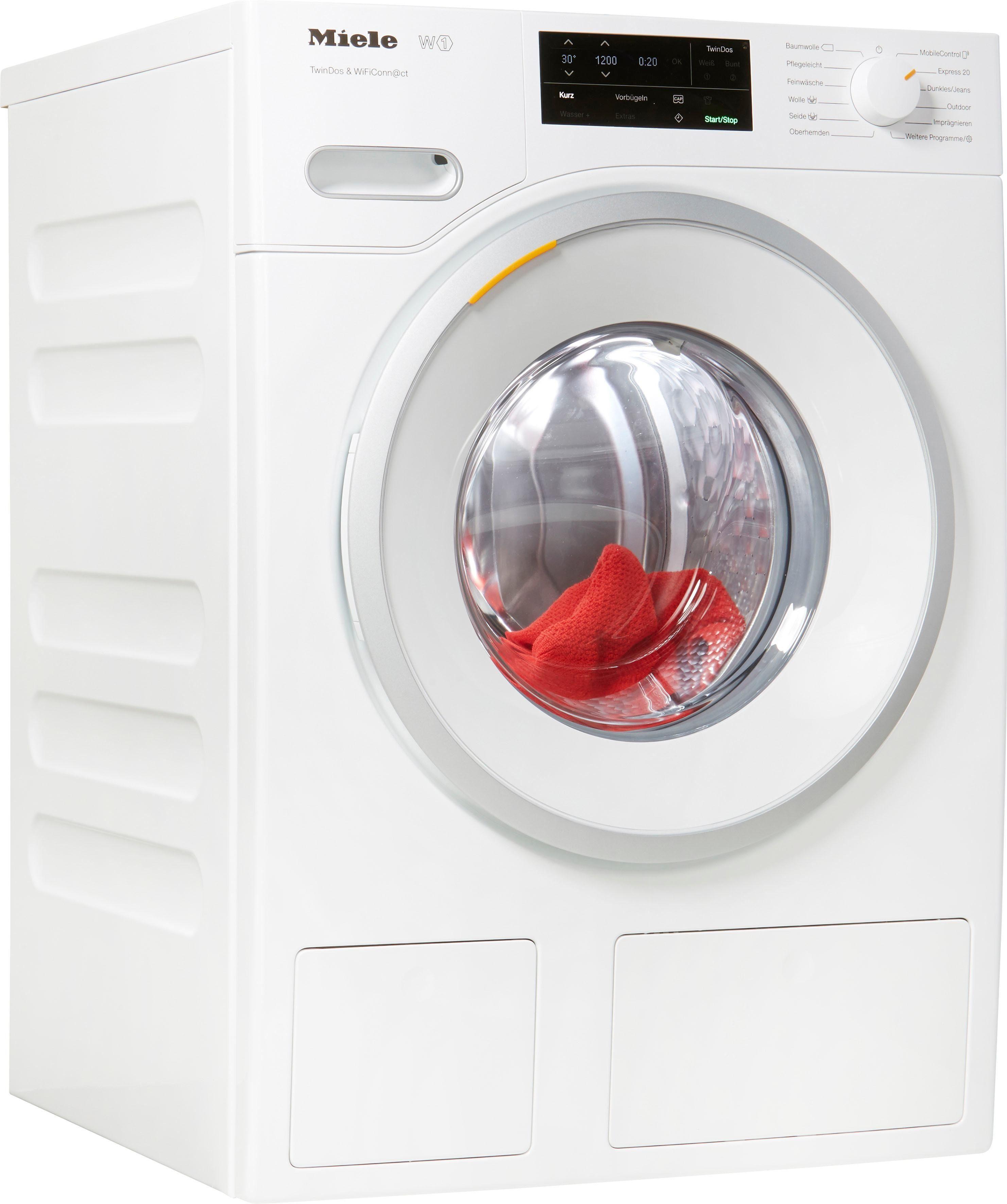 Miele Waschmaschine WWE660 WPS TDos Wifi, 8 kg, 1400 U/Min