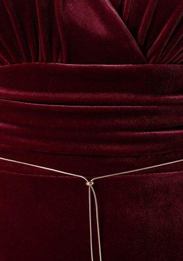Abendkleid Kretschmer ausschnitt Guido Tief Maria Überschnittenen V Mit 6UOOEx
