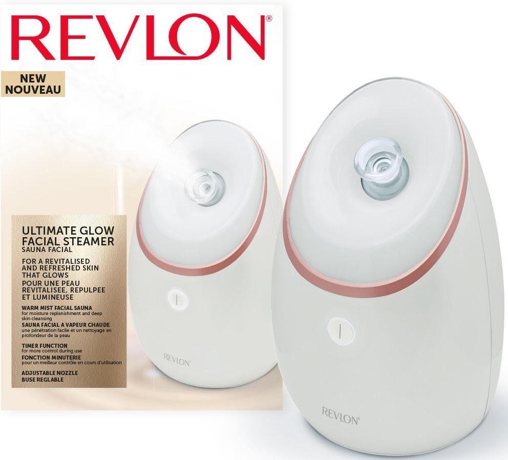 Revlon Ultimate Glow Gesichtssauna - RVSP3537E, Belebender Dampf mit UV Technologie