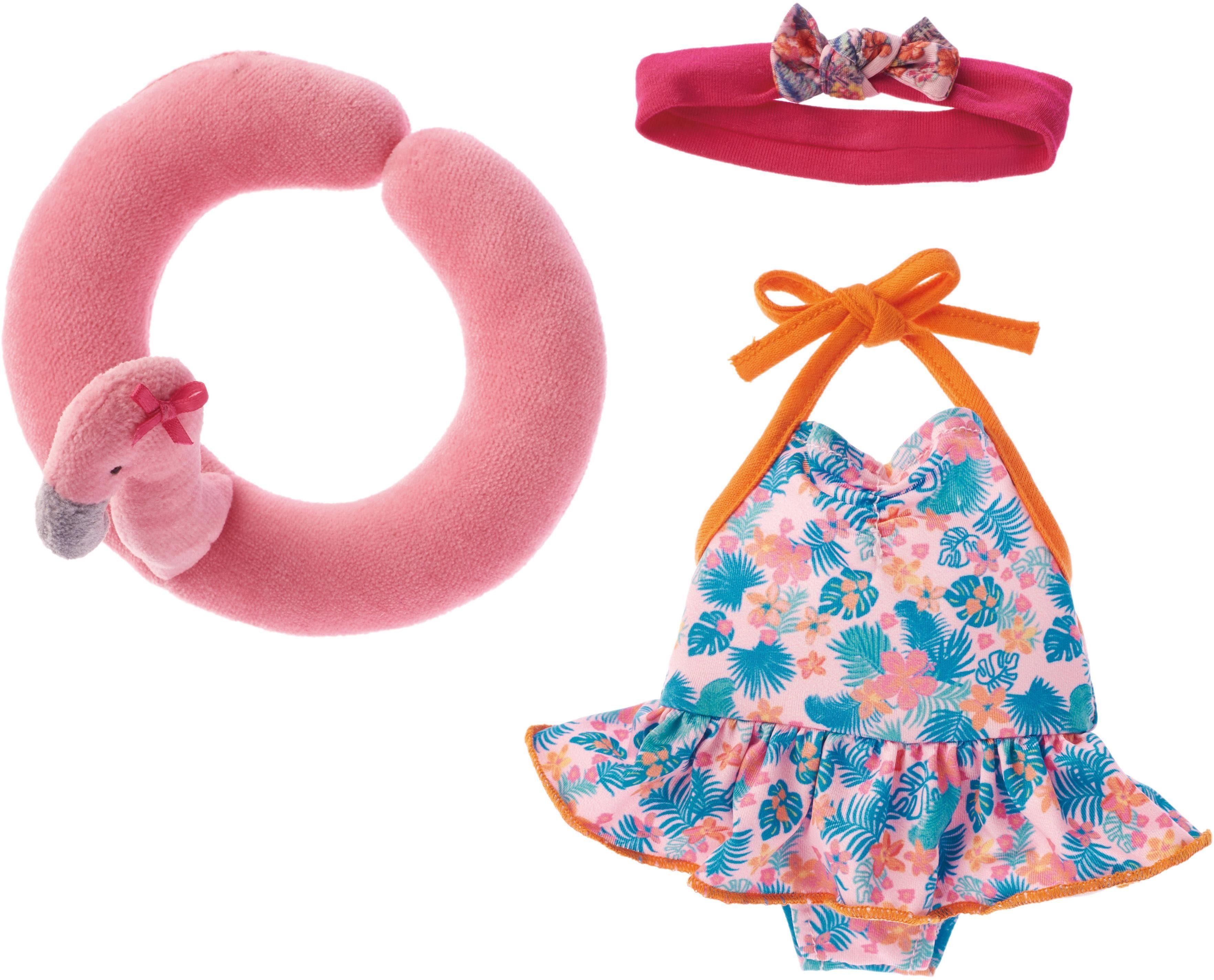 Käthe Kruse Puppenbekleidung, »Badeanzug mit Schwimmreifen«