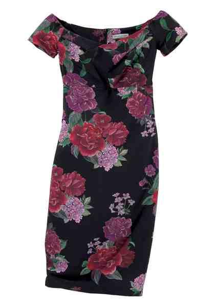 GUIDO MARIA KRETSCHMER Sommerkleid, mit großem Blumenprint
