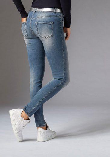 GUIDO MARIA KRETSCHMER Skinny-fit-Jeans im Heavy-Used-Look
