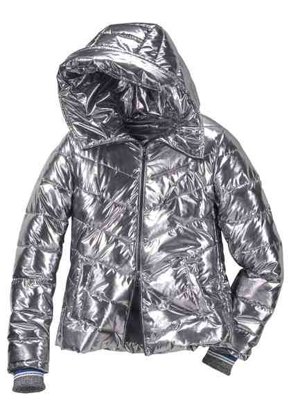 GUIDO MARIA KRETSCHMER Steppjacke im Metallic-Look