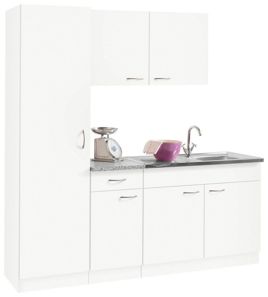 Küchenblock »Kiel«, Breite 190 Cm Mit 28 Mm Starker