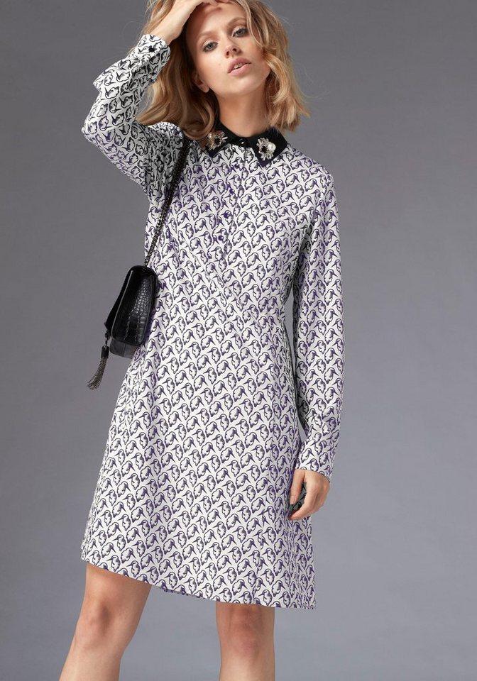 GUIDO MARIA KRETSCHMER Hemdblusenkleid mit Alloverprint online ... b80d0fe1d8
