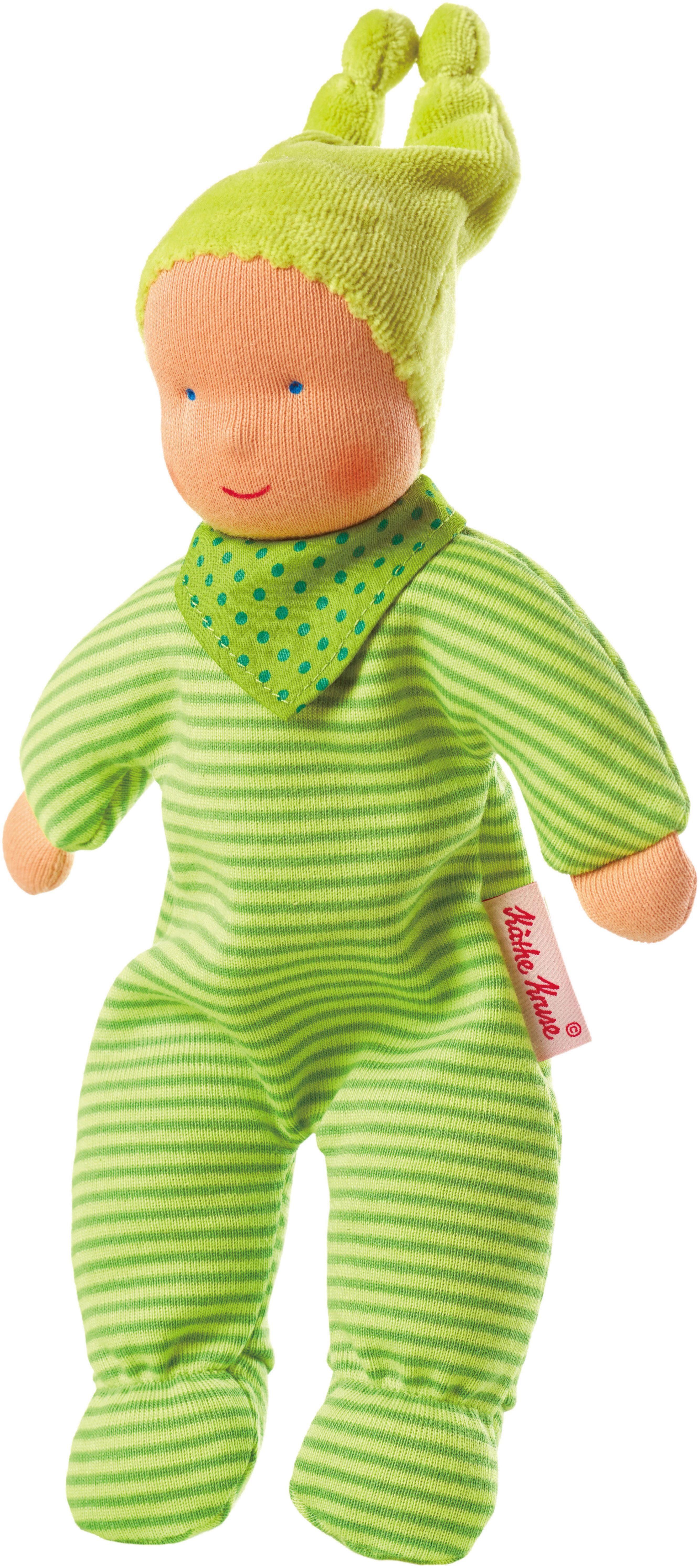 Käthe Kruse Stoffpuppe, »Baby Schatzi, grün«