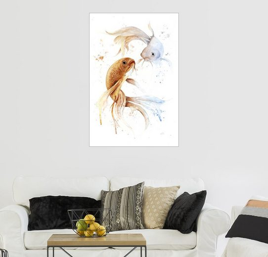 Posterlounge Wandbild - Nadine Conrad »Sternzeichen Fische«