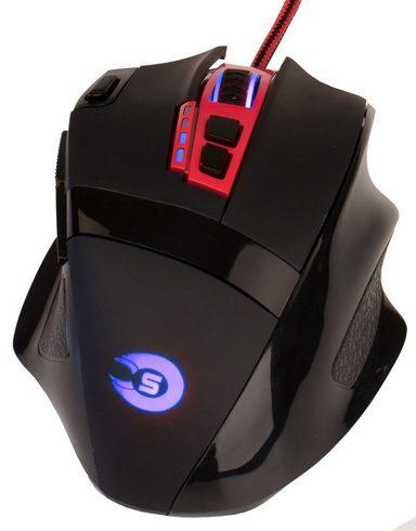 HYRICAN Striker Gaming Maus ST-GM082 USB mit RGB Beleuchtung »Mäuse/Joystick«