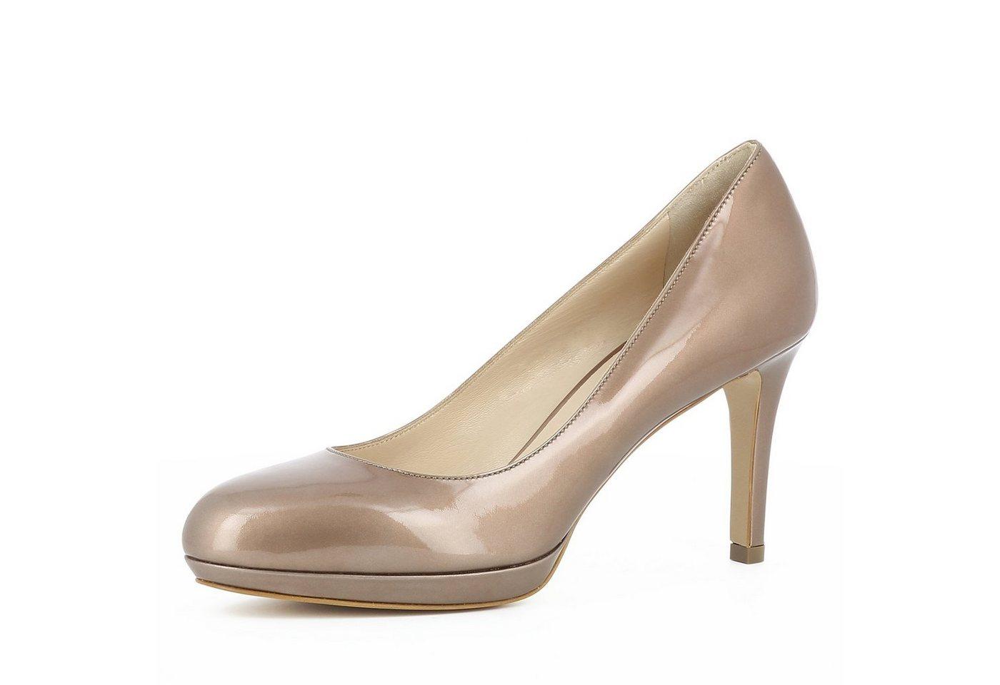 Evita »BIANCA« Plateaupumps | Schuhe > Pumps > Plateaupumps | Gelb | Evita