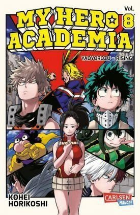 Broschiertes Buch »My Hero Academia / My Hero Academia Bd.8«