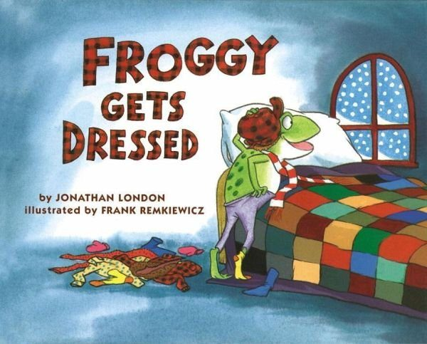 Buch mit Papp-Einband »Froggy Gets Dressed Board Book«