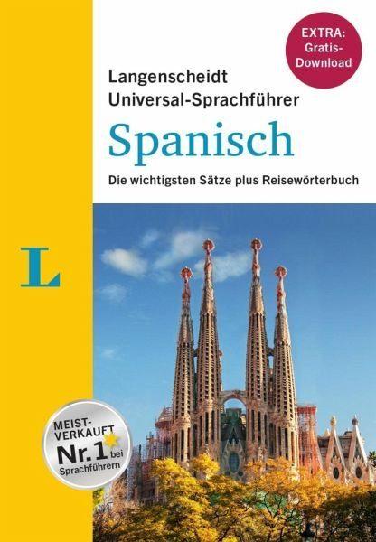 Buch mit Kunststoff-Einband »Langenscheidt Universal-Sprachführer Spanisch...«