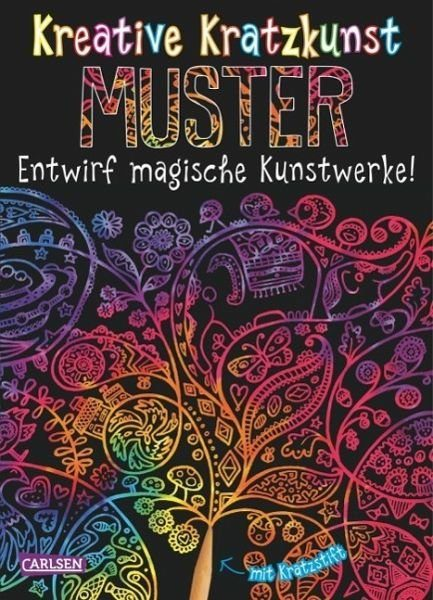 Broschiertes Buch »Kreative Kratzkunst: Muster: Set mit 10...«