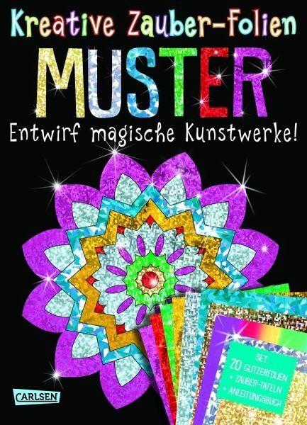 Broschiertes Buch »Kreative Zauber-Folien: Muster: Set mit 10...«