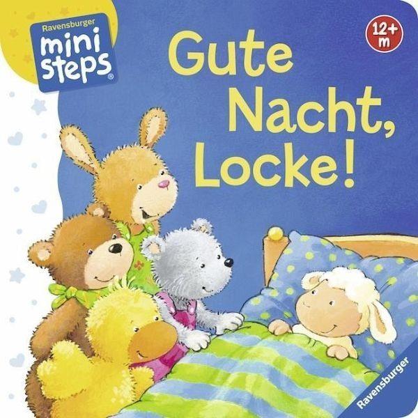 Buch mit Papp-Einband »Gute Nacht, Locke!«