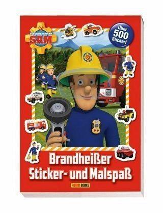 Broschiertes Buch »Feuerwehrmann Sam: Brandheißer Sticker- und...«