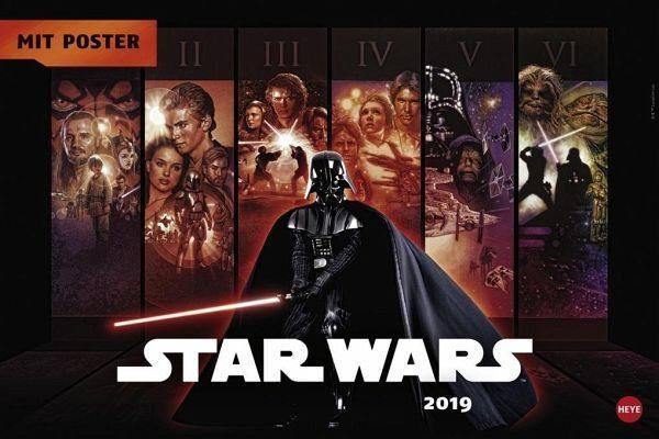 Kalender »Star Wars Broschur XL - Kalender 2019«