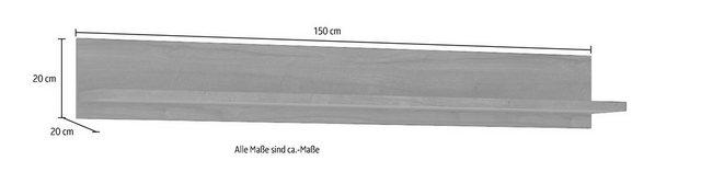Küchenregale - Wandregal »Bellini«, Breite 150 cm  - Onlineshop OTTO
