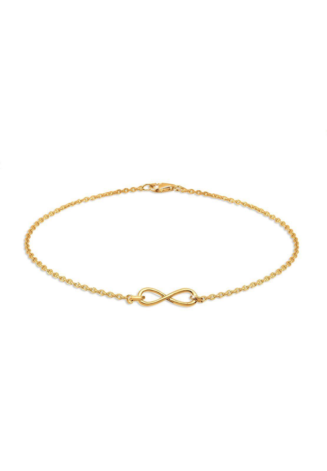 Elli Armband »Infinity Unendlichkeit 925 Sterling Silber«