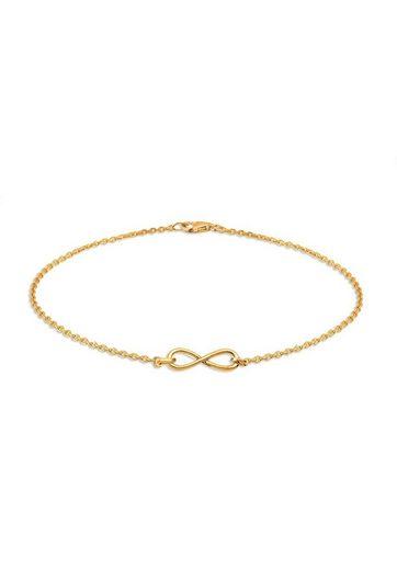 Elli Armband »Infinity Unendlichkeit fein 925 Silber«