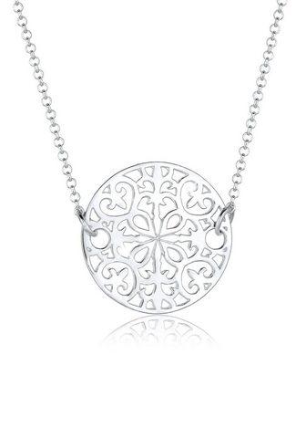 ELLI Grandinėlė-kolje »Ornament Münze 925 S...